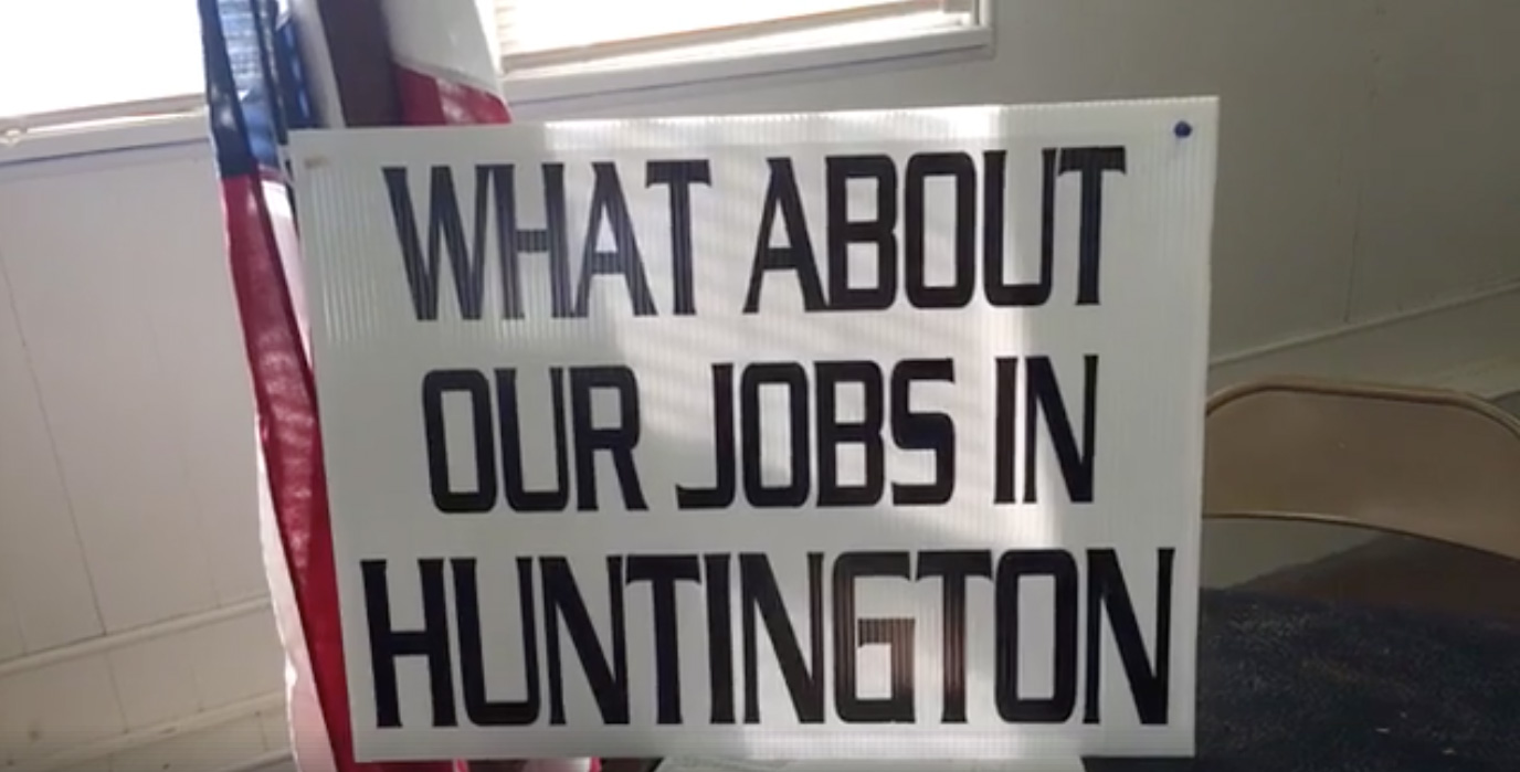 Huntington, Indiana job loss