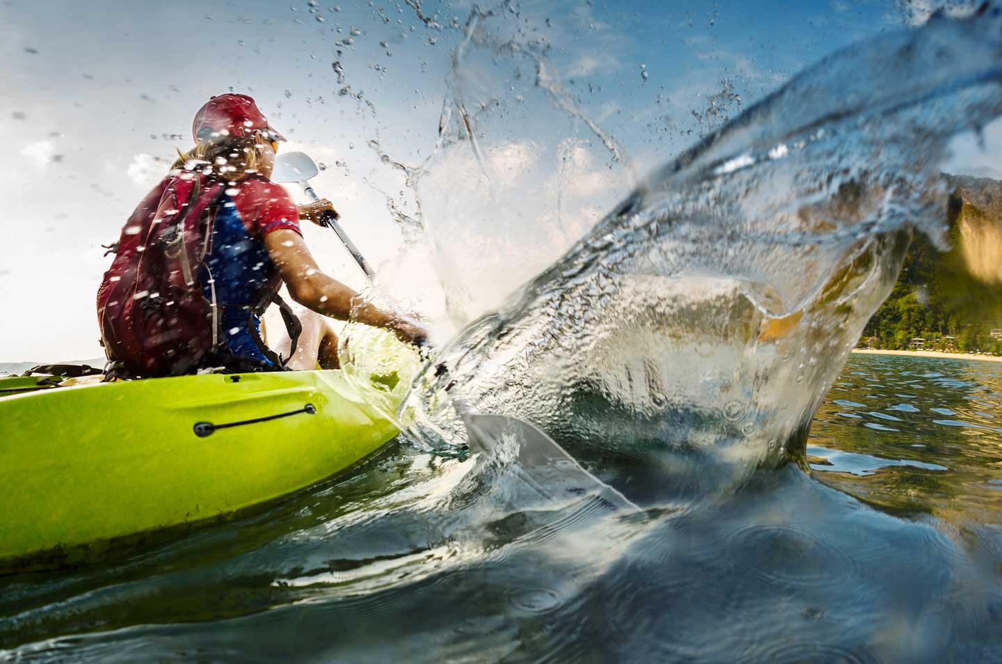 The Velvet Rope Economy- Man Kayaking